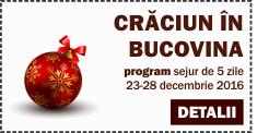 Program Craciun in Bucovina Vatra Dornei 2016