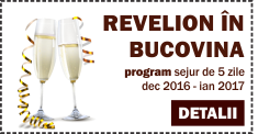 Program Revelion in Bucovina Vatra Dornei 2017