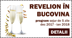 Program Revelion in Bucovina 2018